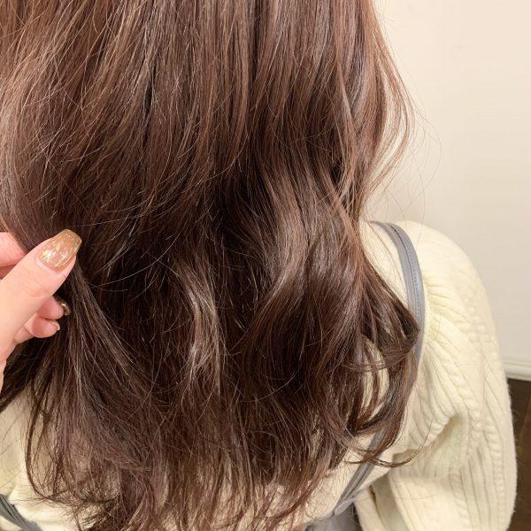 おすすめヘアカラー【ピンクブラウンカラー】
