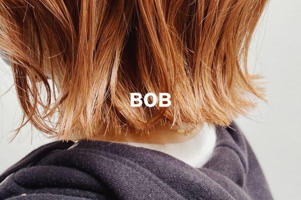 パツッと質感ボブがかわいいです!!